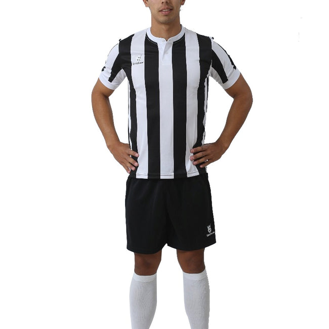JERSEY CASKARITA CON SHORT Y MEDIAS STRIPES BLACK/WHITE