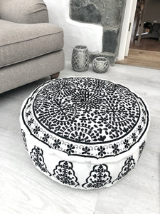 Nomad Embroidered Pouffe