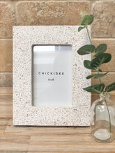 Load image into Gallery viewer, White Terrazzo Photo Frame