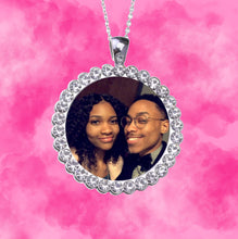 Load image into Gallery viewer, Rhinestone Picture Pendants