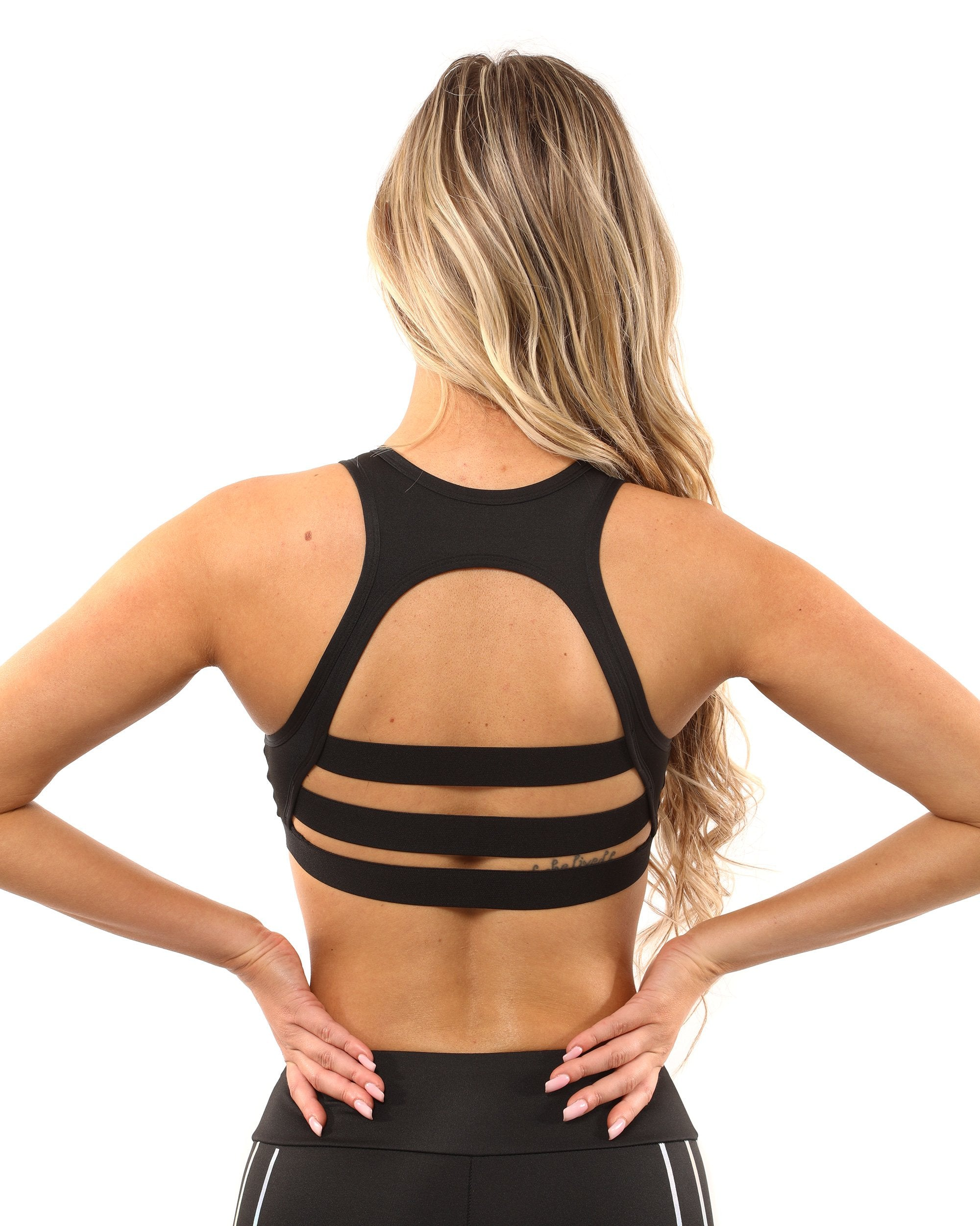Laguna Sports Bra - Black - Chic Athletics