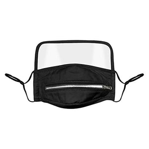 Opening Outdoor Protective Dust Proof Face Mask With Eyes Shield