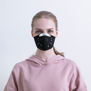 Double Breathing Valve Face Mask