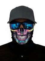 Load image into Gallery viewer, Unisex Bandanas Neck Gaiter Dust and Sun UV Protection (Skull Colored)