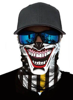 Load image into Gallery viewer, Unisex Bandanas Neck Gaiter Dust and Sun UV Protection (Joker-M)