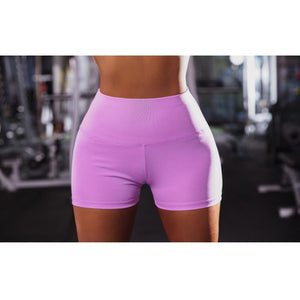 High Waist Push Up Shorts