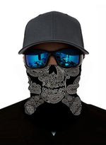 Load image into Gallery viewer, Unisex Bandanas Neck Gaiter Dust and Sun UV Protection (Black)