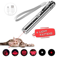 Laden Sie das Bild in den Galerie-Viewer, BiuCat LED Pointer Katzen Hund 3 in 1 Spielzeug Haustier Light Licht...