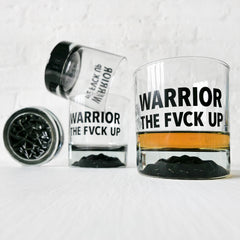 Warrior Whiskey Vessel Set - Set Of 4 Whiskey Glasses