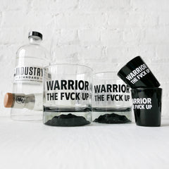 Night Before Battle Set - Whiskey Glass Shot Glass Set of 4