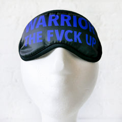 Trance Mask - Warrior Sleep Mask - Warrior the Fvck Up
