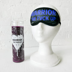 Seance Set - Karma Prayer Candle and Trance Sleep Mask Set
