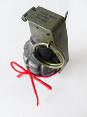 10% SALE Your Love is Da Bomb Industrial Dummy Grenade
