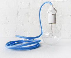 Design A Custom Hanging Light Lamp with Color Cord Pendant