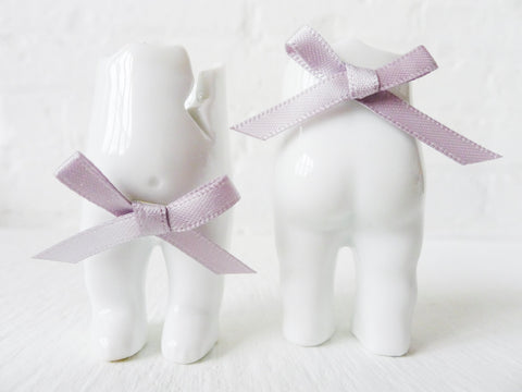 Two Tushiez™ - Adorable Little Porcelain Figurine Pair