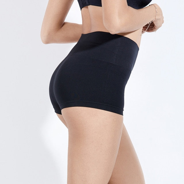 Women's Plus Size Tummy Control Panties High Waist Thigh Slimmer Shapewear Shorts