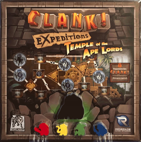 Clank! Expeditions Temple of the Ape Lords expansion