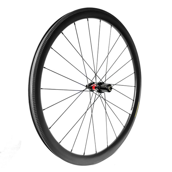 [Rim Brake] 700C Road Wheel DT Swiss 240 SP + Sapim CX-Ray 25mm Wide CLINCHER Wheels