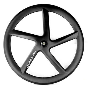 700C Carbon Road & Triathlon Five Spokes Wheels FRONT Wheel