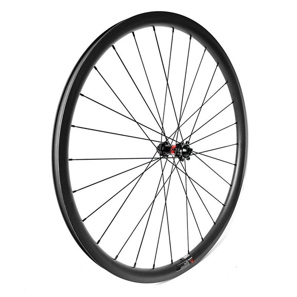 [Disc Brake] Novatec D411 & D412 + Sapim CX-Ray Spoke Custom Gravel Bike Wheelset