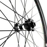 Hand built DT Swiss 350 SP hub + Sapim CX-Ray spoke carbon ENDURO wheelset