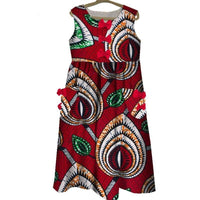 Robe Wax Beauté Infini - Robe-africaine.com - 11 / XS