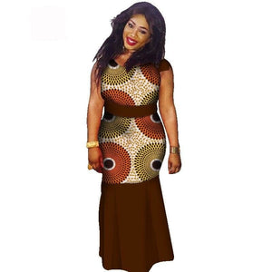Boubou Africain Femme Grande Taille - Robe-africaine.com - 12 / M