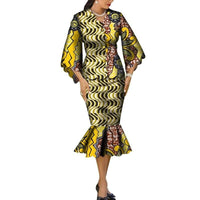 Robe Wax Grande Taille - Robe-africaine.com - 11 / M