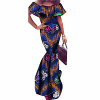 Robe Wax Col Bateau - Robe-africaine.com - [variant_title]