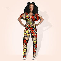 Tenue Africaine Wax Fleurie - Robe-africaine.com - 7 / M