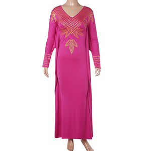Robe Wax Rose - Robe-africaine.com - S