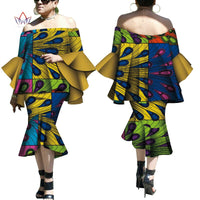 Robe Wax Deux tons - Robe-africaine.com - 11 / M