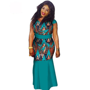Boubou Africain Femme Grande Taille - Robe-africaine.com - 14 / M