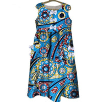 Robe Wax Beauté Infini - Robe-africaine.com - 3 / XS