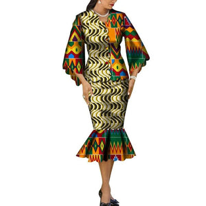 Robe Wax Grande Taille - Robe-africaine.com - 3 / M