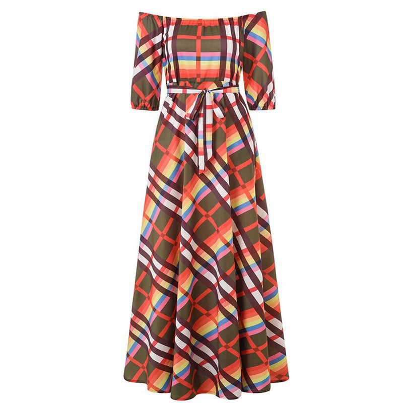 Robe Africaine Kaleidoscopique - Robe-africaine.com - M