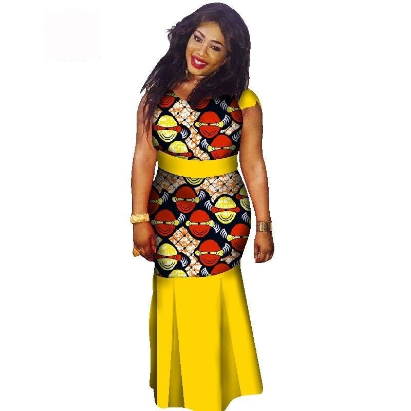Boubou Africain Femme Grande Taille - Robe-africaine.com - 5 / M