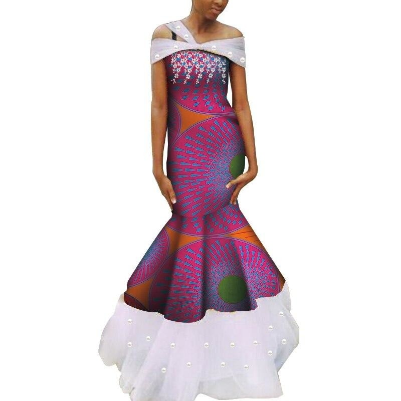 Robe Wax - Traine de Dentelle - Robe-africaine.com - [variant_title]