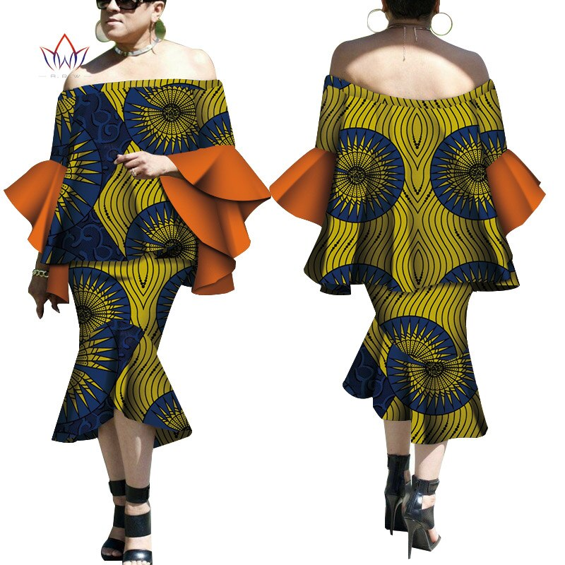 Robe Wax Deux tons - Robe-africaine.com - 12 / M