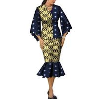 Robe Wax Grande Taille - Robe-africaine.com - 8 / M