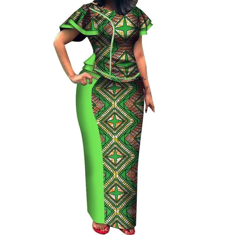 Tenue Traditionnelle Africaine de Mariage - Robe-africaine.com - 7 / M