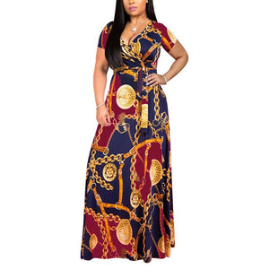 Robe Africaine Droite Longue - Robe-africaine.com - [variant_title]