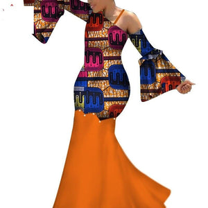 Robe Wax Longue 2018 - Robe-africaine.com - [variant_title]