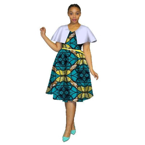 Tenue Traditionnel Africaine - Robe-africaine.com - 19 / M