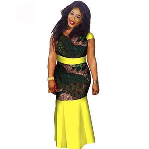 Boubou Africain Femme Grande Taille - Robe-africaine.com - 9 / M