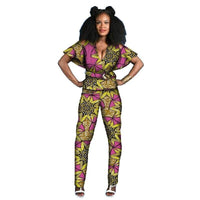 Tenue Africaine Wax Fleurie - Robe-africaine.com - 10 / M