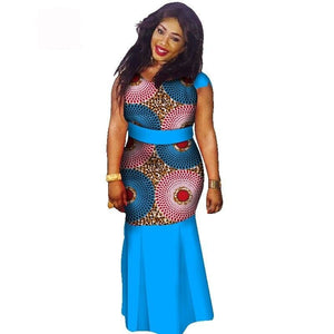 Boubou Africain Femme Grande Taille - Robe-africaine.com - 11 / M