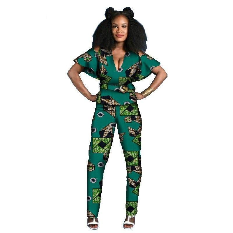 Tenue Africaine Wax Fleurie - Robe-africaine.com - 9 / M