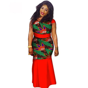 Boubou Africain Femme Grande Taille - Robe-africaine.com - 7 / M