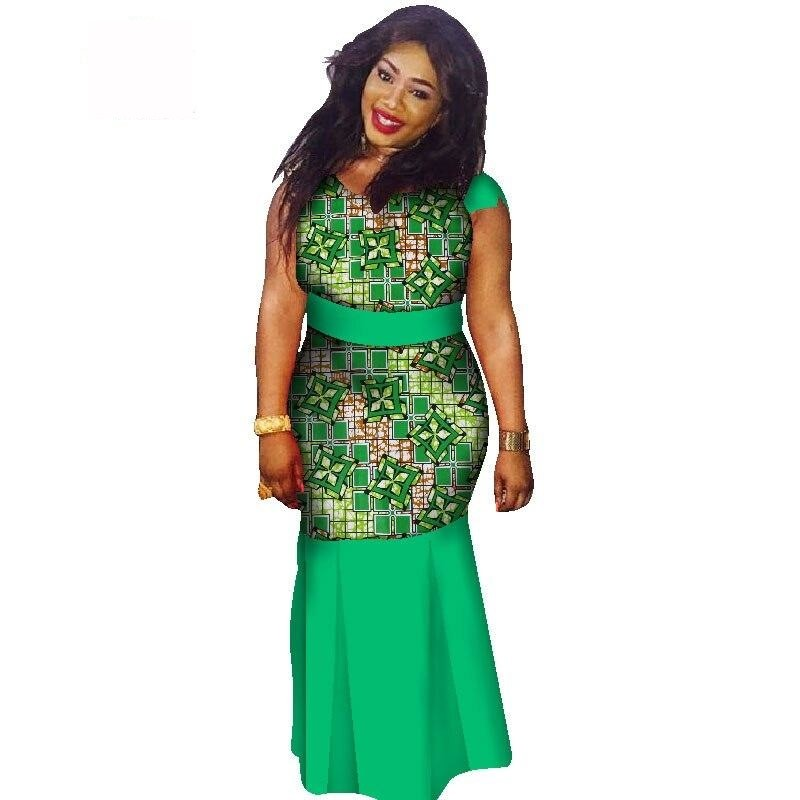 Boubou Africain Femme Grande Taille - Robe-africaine.com - [variant_title]